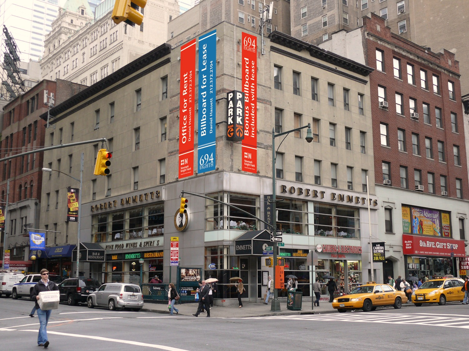 Month to Month Office Lease Considered at 694 Eighth Avenue