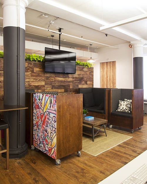 Tech Startup's Cool Office in Midtown South
