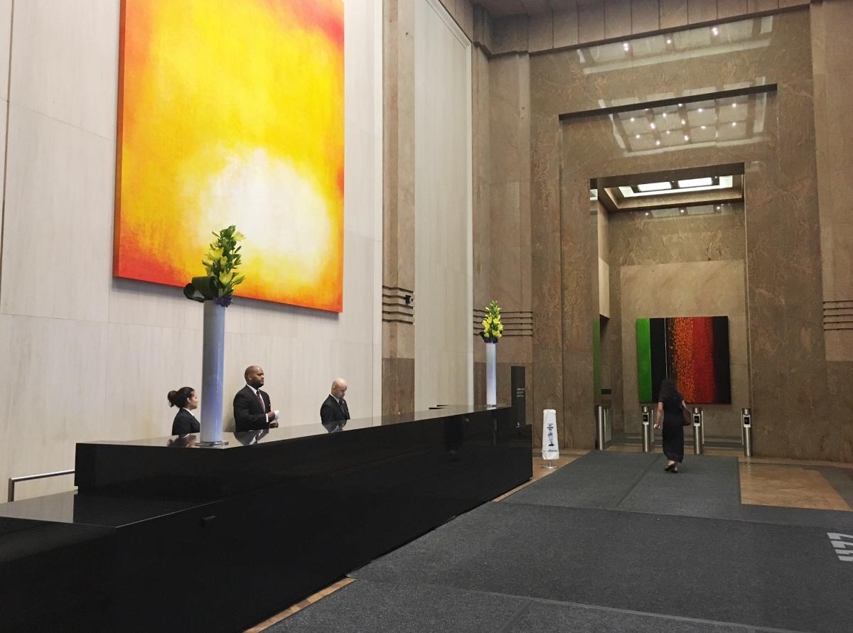 1177 Avenue of the Americas Lobby
