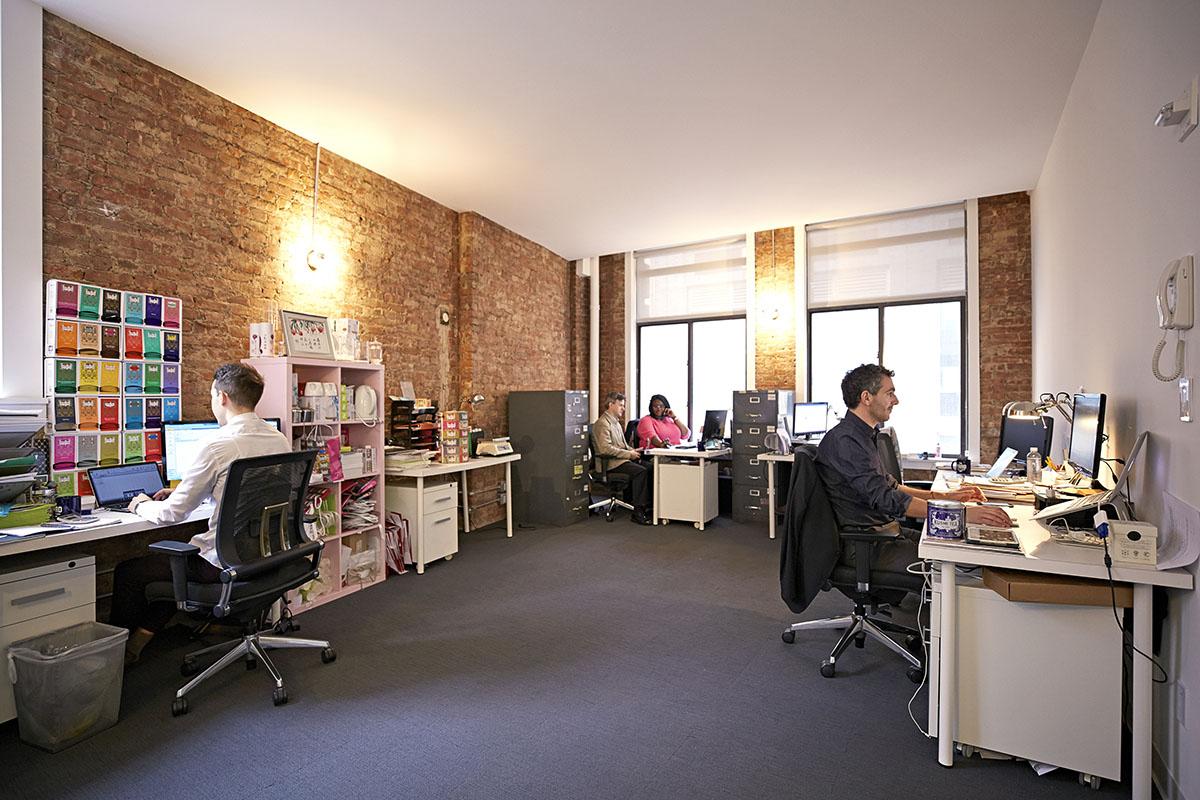 Desks area