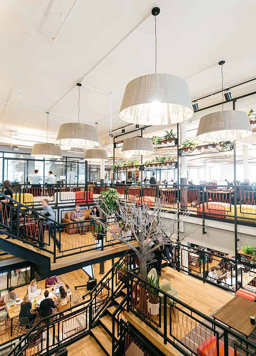 WeWork Chelsea Coworking Space – 115 W 18th St